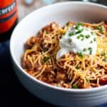 Slow Cooker Turkey Chili | A Nerd Cooks