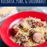 Slow Cooker Kielbasa, Pork, and Sauerkraut   A Nerd Cooks