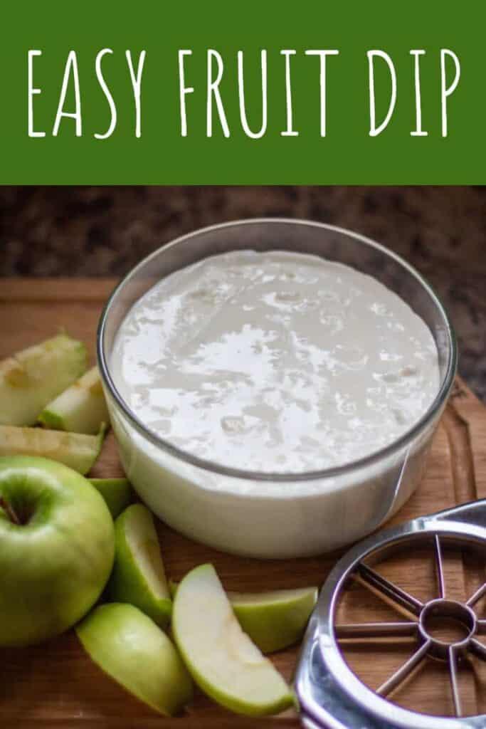 Easy Fruit Dip | A Nerd Cooks