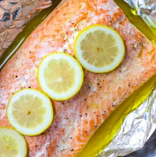 Easy Baked Salmon | A Nerd Cooks