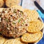 Buffalo Ranch Cheese Ball | A Nerd Cooks