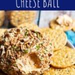Buffalo Ranch Cheese Ball   A Nerd Cooks