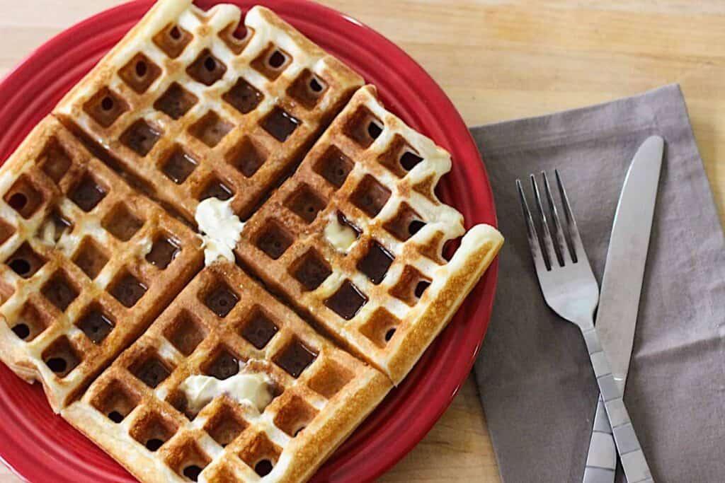 Classic Waffles | A Nerd Cooks