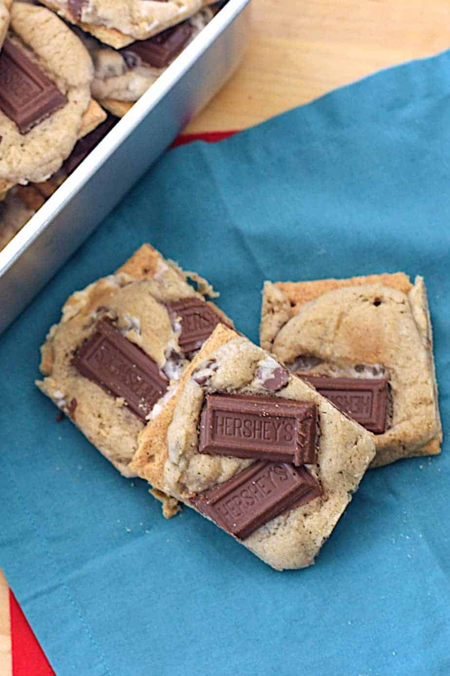 S'mores Cookies | A Nerd Cooks