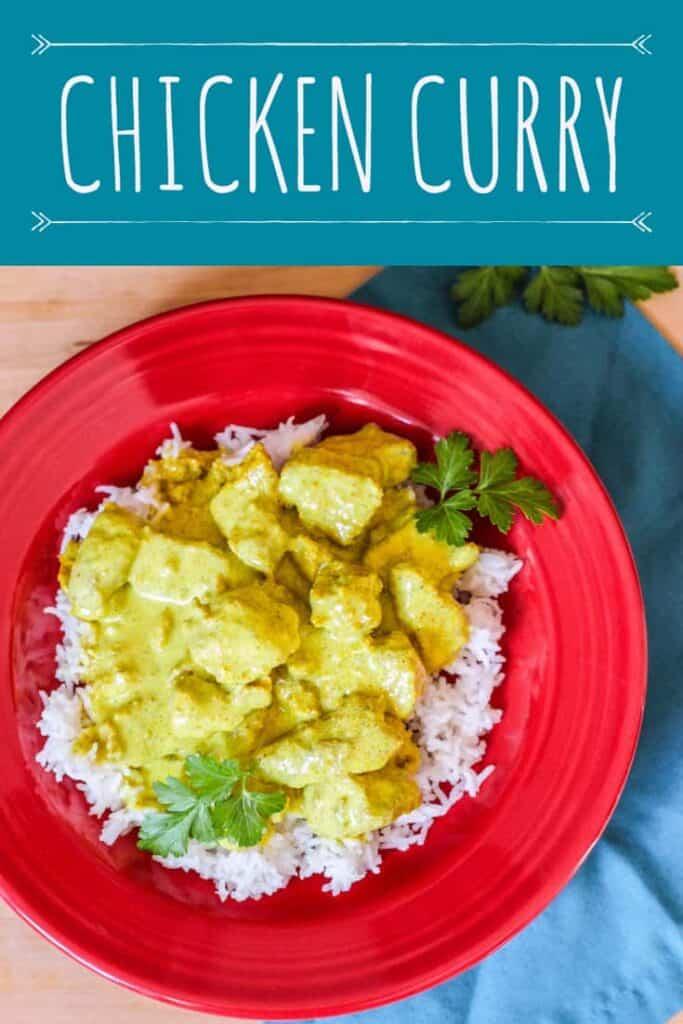 Chicken Curry   A Nerd Cooks