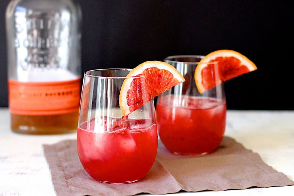 Blood Orange Bourbon Sours | A Nerd Cooks