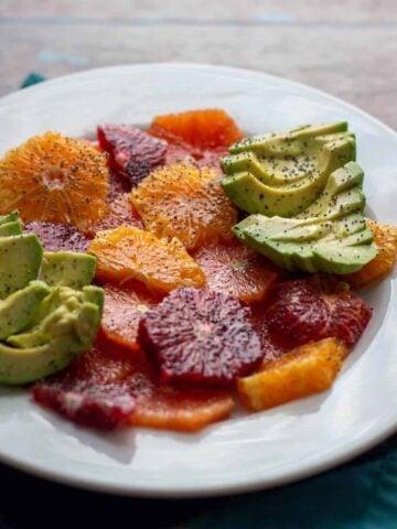 Mixed Citrus and Avocado Salad | A Nerd Cooks