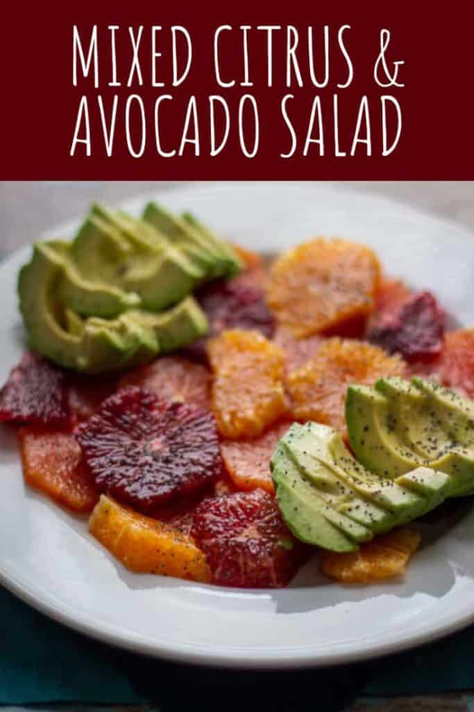 Mixed Citrus and Avocado Salad | A Nerd Cooks