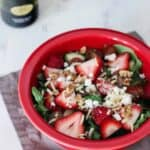 Strawberry Balsamic Salad | A Nerd Cooks