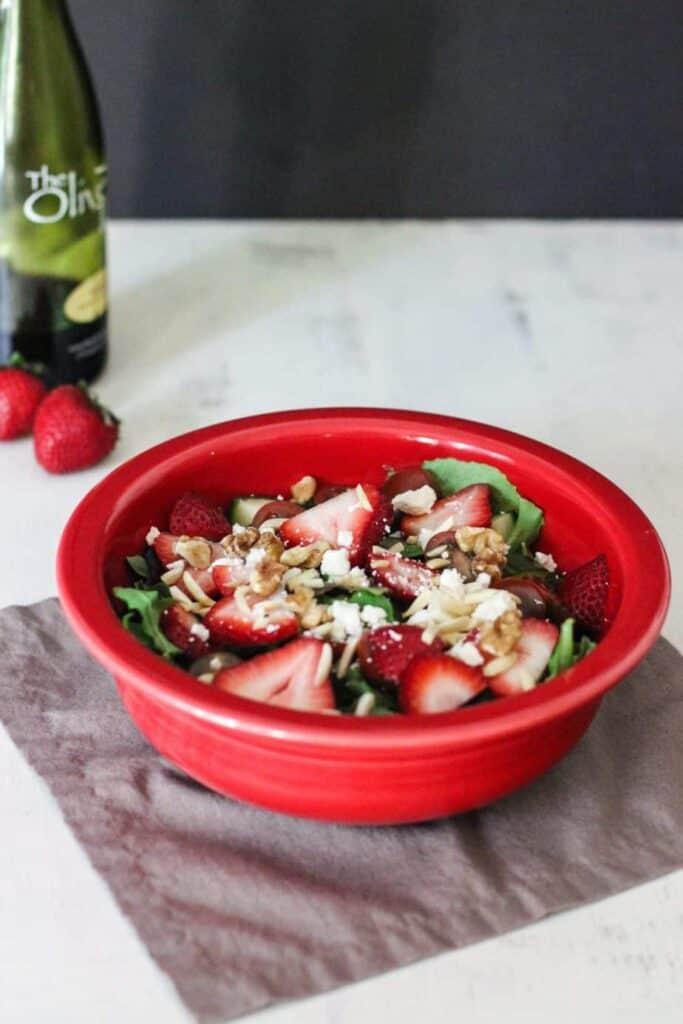 Strawberry Balsamic Salad   A Nerd Cooks