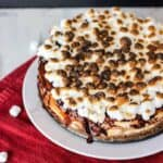 S'mores Cheesecake | A Nerd Cooks