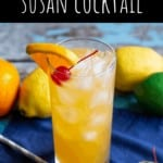 The Black Eyed Susan Cocktail | A Nerd Cooks