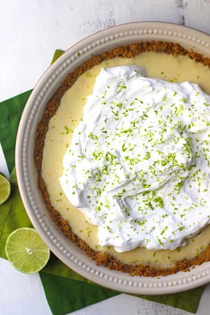 Key Lime Pie | A Nerd Cooks