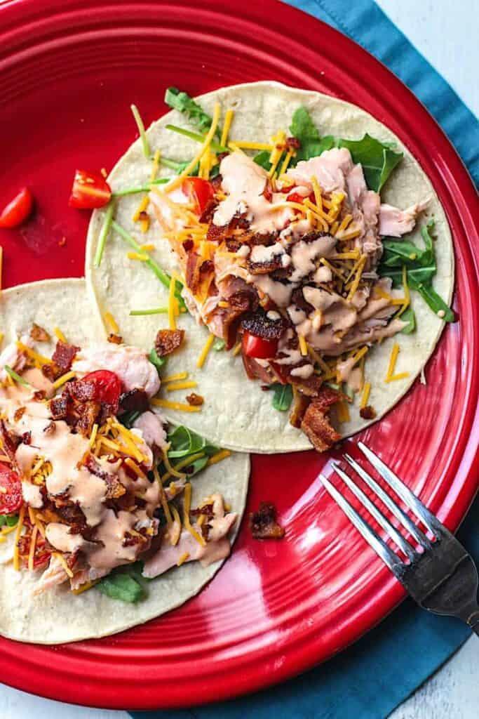 Salmon BLT Tacos | A Nerd Cooks