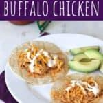Slow Cooker Buffalo Chicken | A Nerd Cooks
