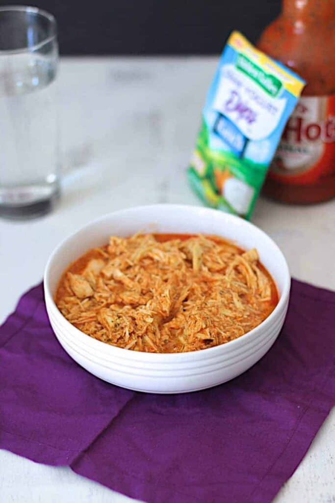 Slow Cooker Buffalo Chicken | A Nerd Cooks