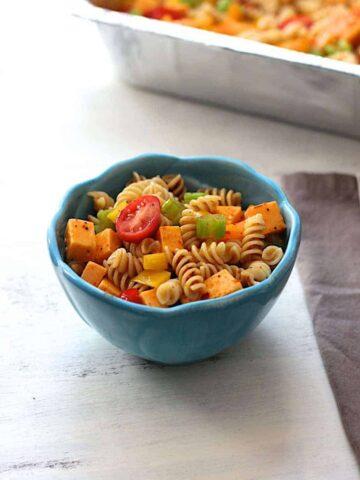 Lauren's Pasta Salad | A Nerd Cooks