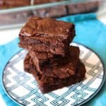 Simple Fudge Brownies | A Nerd Cooks