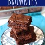 Simple Fudge Brownies   A Nerd Cooks