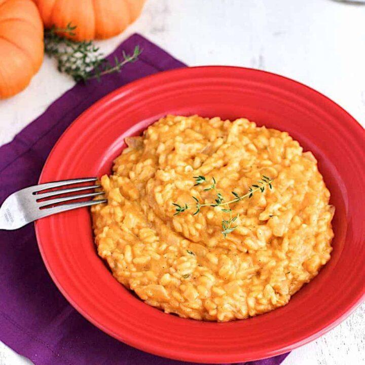 Pumpkin Risotto | A Nerd Cooks