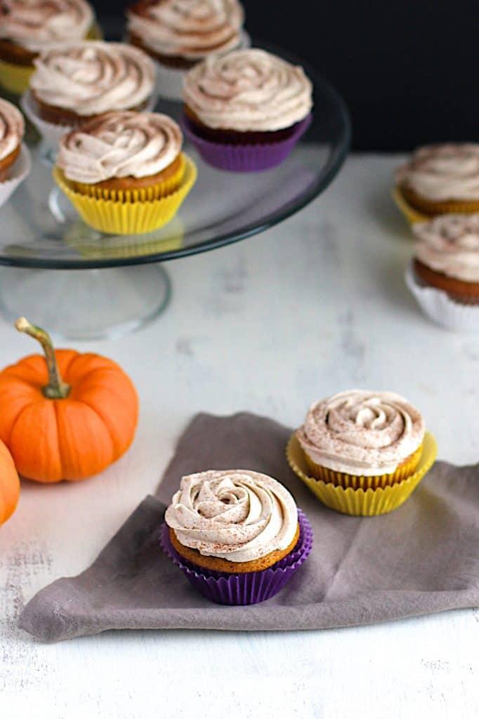 Pumpkin Spice Cupcakes | A Nerd Cooks