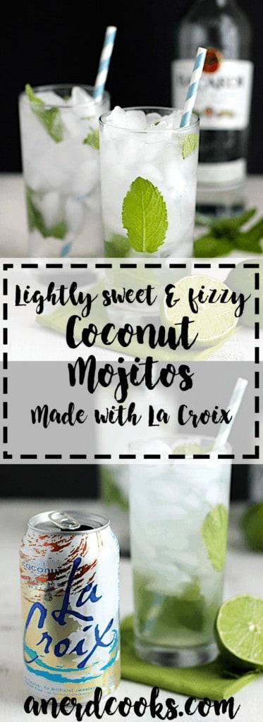 Coconut Mojitos | A Nerd Cooks