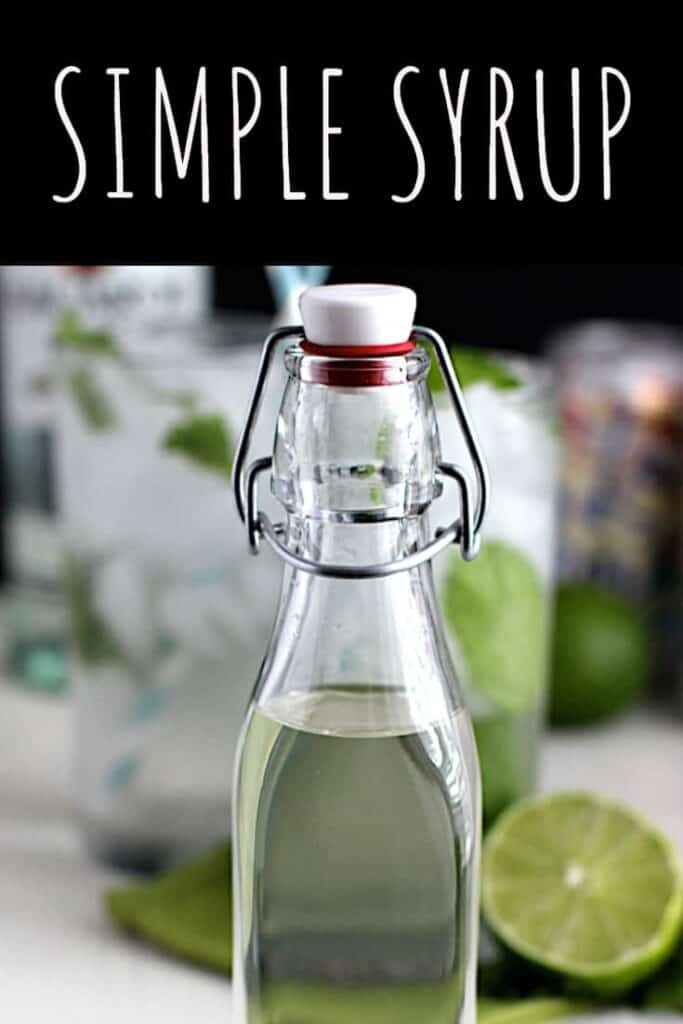 Simple Syrup | A Nerd Cooks