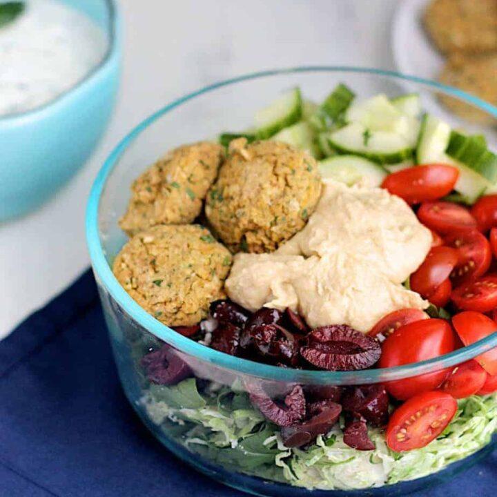 Greek Power Bowl | A Nerd Cooks