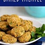 Baked Falafel   A Nerd Cooks