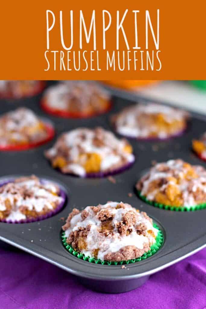 Pumpkin Streusel Muffins | A Nerd Cooks