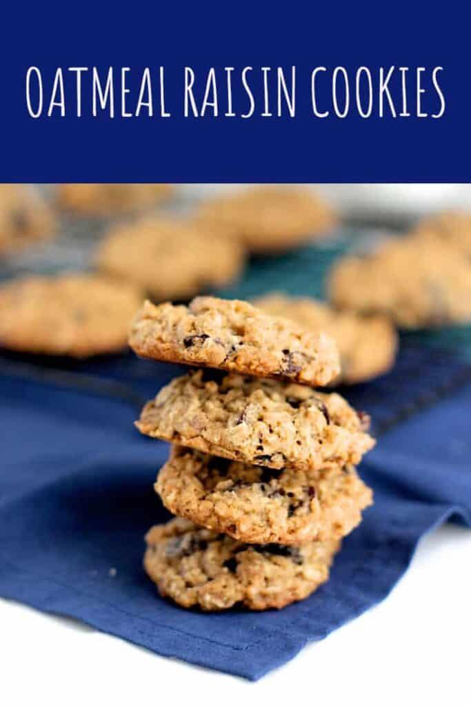 Oatmeal Raisin Cookies | A Nerd Cooks