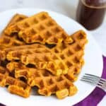 Pumpkin Waffles | A Nerd Cooks