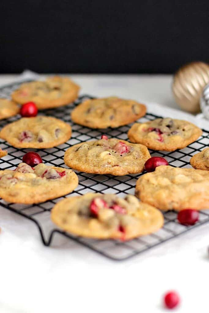 Cranberry Pecan Chocolate Chip Cookies | A Nerd Cooks