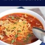 Mexican Chicken Soup | A Nerd Cooks