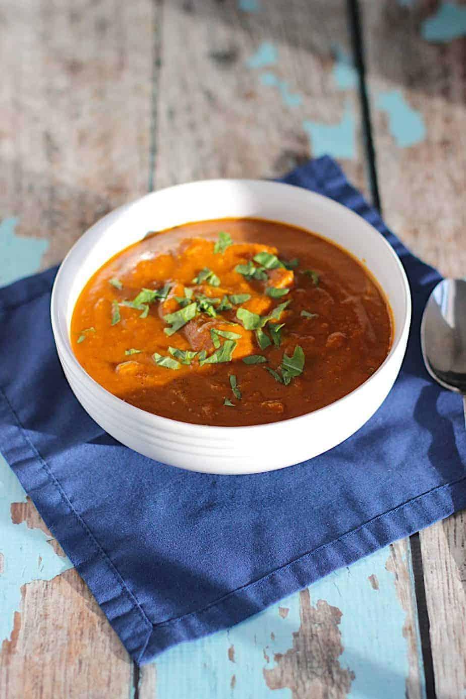 Chicken Tikka Masala Soup | A Nerd Cooks