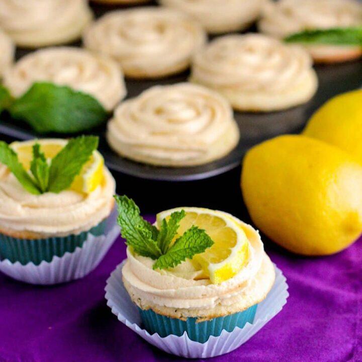 Arnold Palmer Cupcakes | A Nerd Cooks
