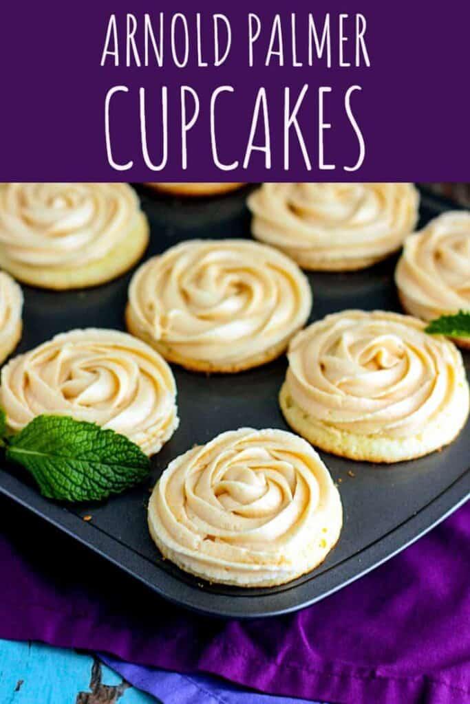 Arnold Palmer Cupcakes   A Nerd Cooks