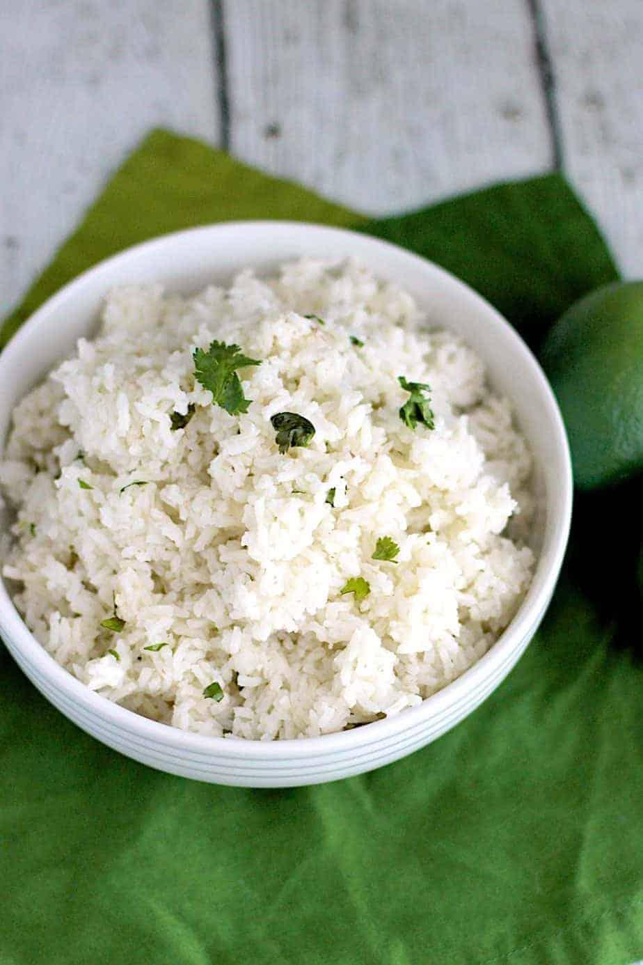 Cilantro Lime Rice | A Nerd Cooks