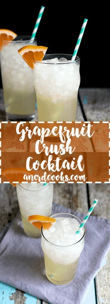 Grapefruit Crush Cocktail | A Nerd Cooks
