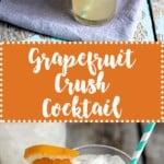 Grapefruit Crush Cocktail   A Nerd Cooks