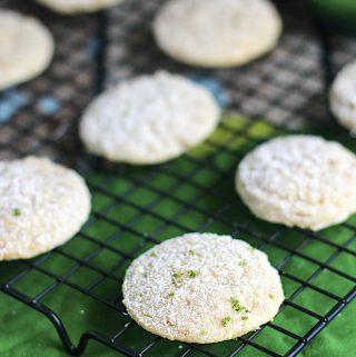 Key Lime Pie Cookies | A Nerd Cooks
