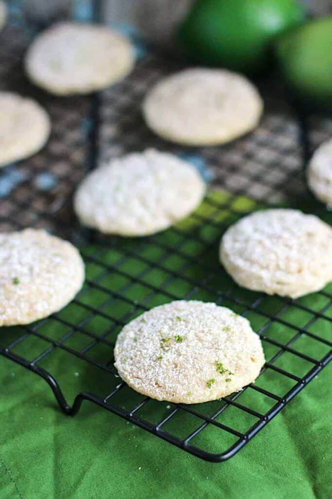 Key Lime Pie Cookies | A Nerd Cooks