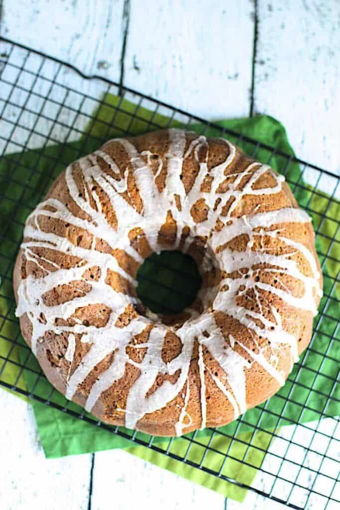 Cinnamon Zucchini Bundt Cake | A Nerd Cooks
