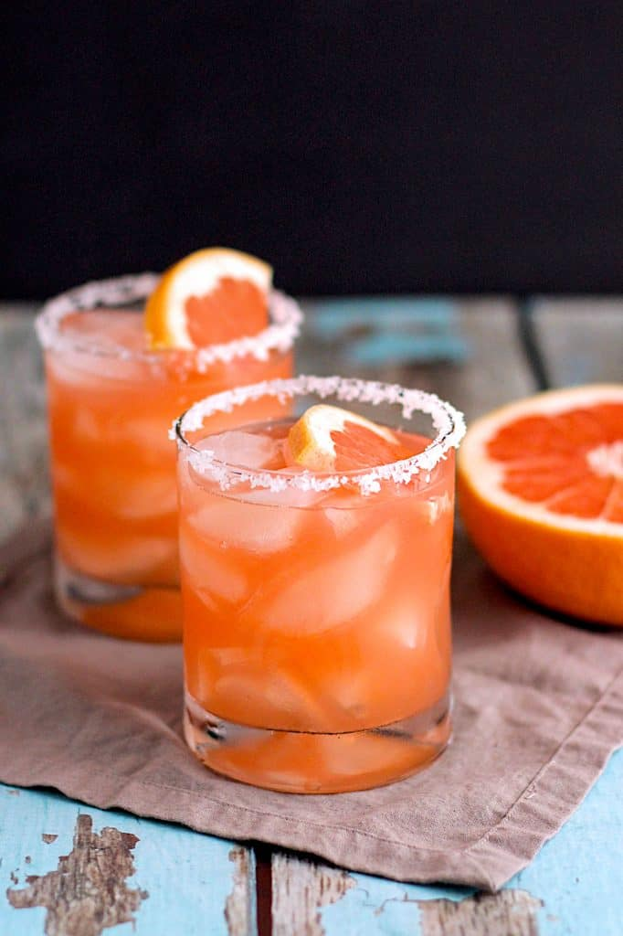 Salty Dog Cocktail | A Nerd Cooks