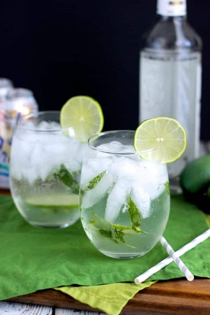 Lemongrass and Thai Basil Mojito | A Nerd Cooks