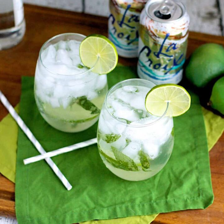 Lemongrass and Thai Basil Mojito   A Nerd Cooks