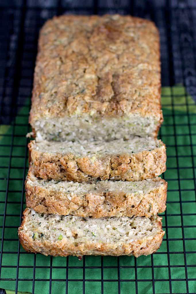 Coconut Zucchini Bread | A Nerd Cooks