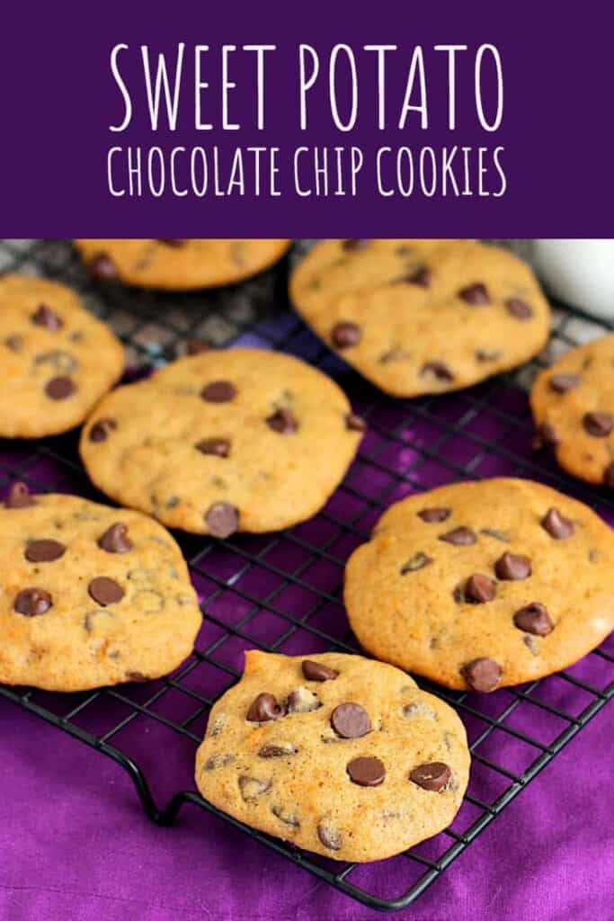Sweet Potato Chocolate Chip Cookies | A Nerd Cooks
