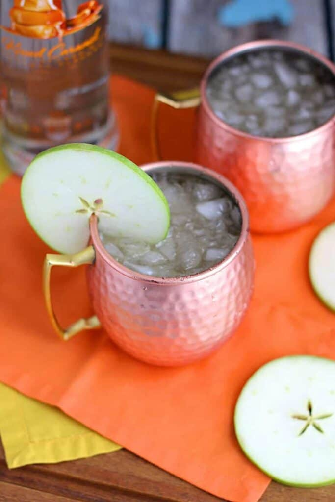 Caramel Apple Moscow Mule | A Nerd Cooks