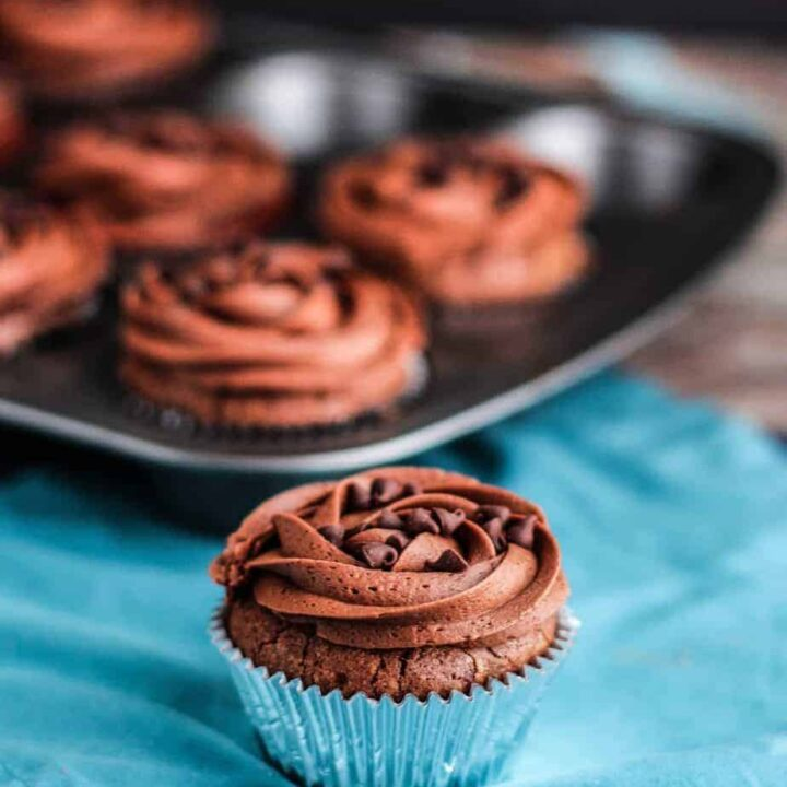 Double CDouble Chocolate Brownie Cupcakes | A Nerd Cookshocolate Brownie Cupcakes | A Nerd Cooks